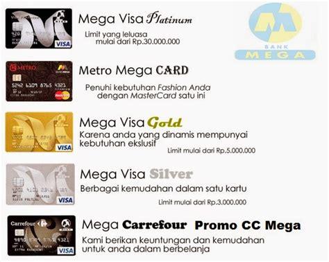 membuat kartu kredit mega limit kartu kredit bank mega gold 2018 kodebanks net 2018