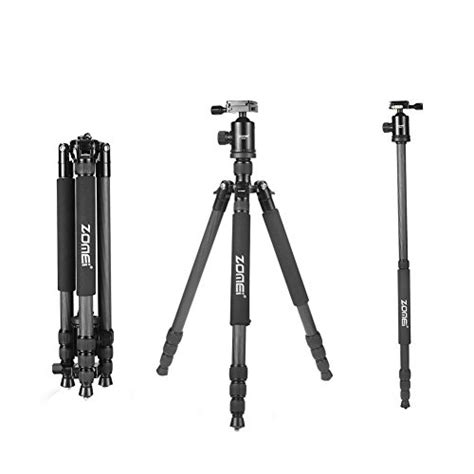 Tripod Dslr Malaysia from us zomei z818c carbon fiber tripods for digital dslr cameras with release