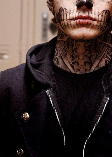 evan peters tattoos evan peters quot tate langdon quot american horror story always