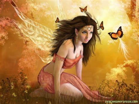 imagenes de hadas y mariposas hada con mariposas