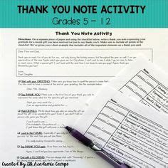 Thank You Note To Ccd Winter Word Search Sub Activity Elementary Word Search