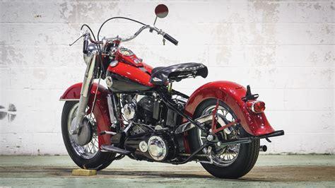 1957 Harley Davidson Panhead by 1957 Harley Davidson Fl Panhead Lot S230 Las Vegas