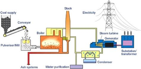 what coal is used as major fuel in thermal power plant