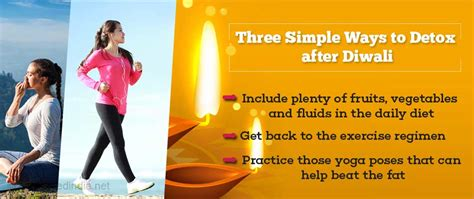 Simple Ways To Detox by Three Simple Ways To Detox After Diwali