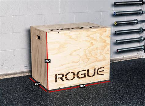 rogue flat pack box 3 sizes of plyoboxes in 1