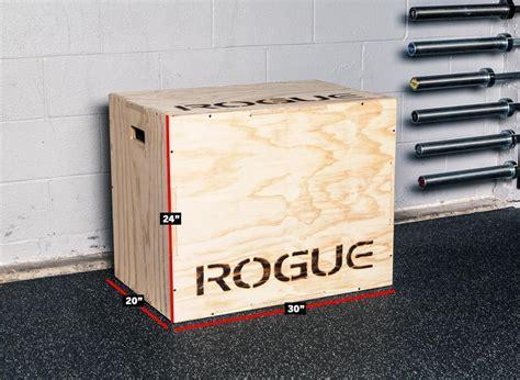 rogue flat pack box 3 in 1 wood plyo box