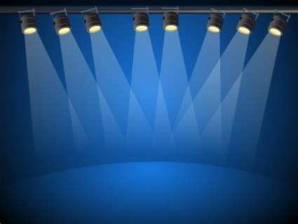 Ai Lighting by Vector Blue Lights Vector Ai Svg Eps Vector Free