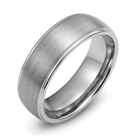 97 tungsten mens wedding bands cheap size of