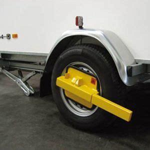antivol remorque carpoint carpoint sabot antivol de roue caravane voiture