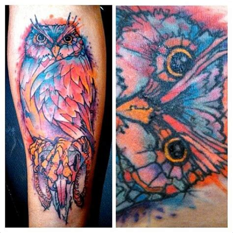 watercolor tattoo vancouver 380 best images about tattoos owl on