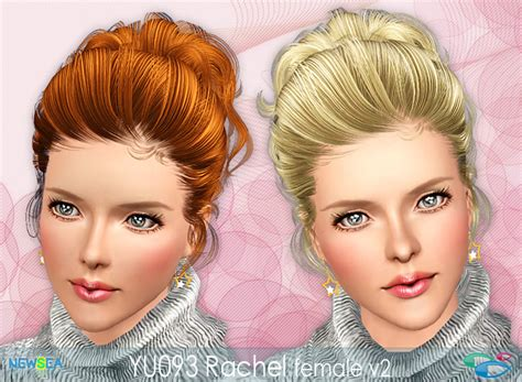 sims 3 baby hair sims3pack curly hair hairstyle by yu newsea