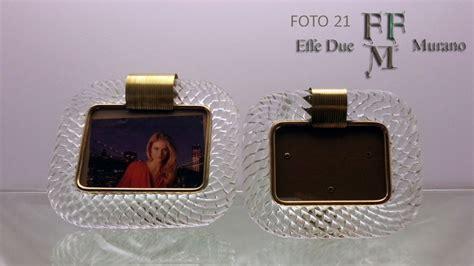 cornici di vetro murano glass photo frames cornici in vetro di murano