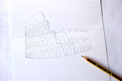 colosseum pop up card template pop up colosseum