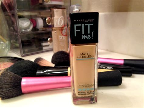 Maybelline Fit Me Foundation Review Harga maybelline fit me matte poreless foundation 128 warm