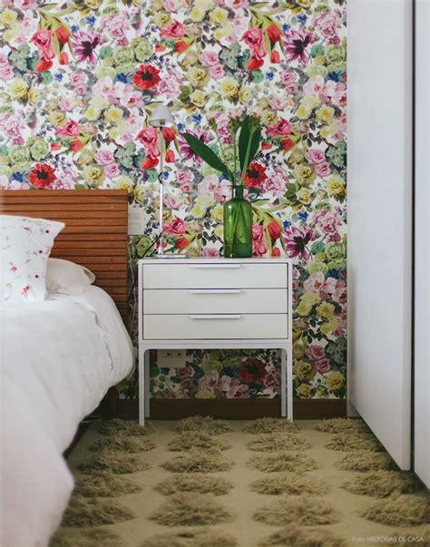 id馥s chambre adulte ide de papier peint chambre adulte motif floral fleurs
