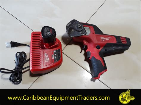 milwaukee  cable cutter caribbean equipment