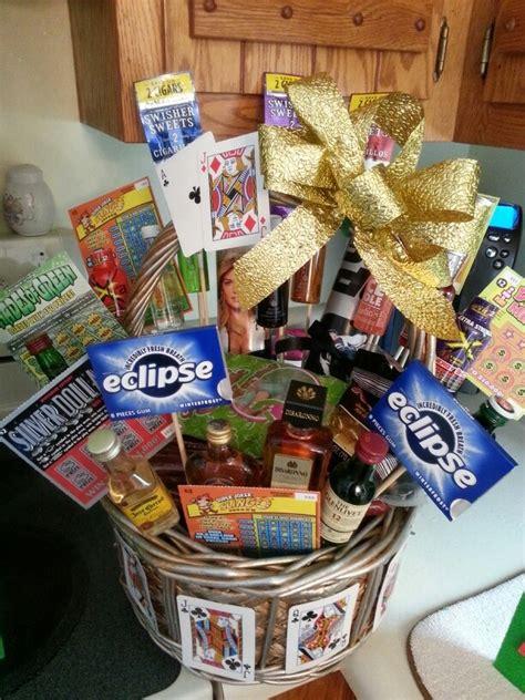 birthday themed raffle basket 14 best casino gift basket images on pinterest gift