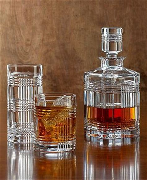 ralph lauren barware lauren ralph lauren glen plaid barware collection