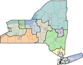 New York Map Districts by New Congressional Districts For The Capital Region All