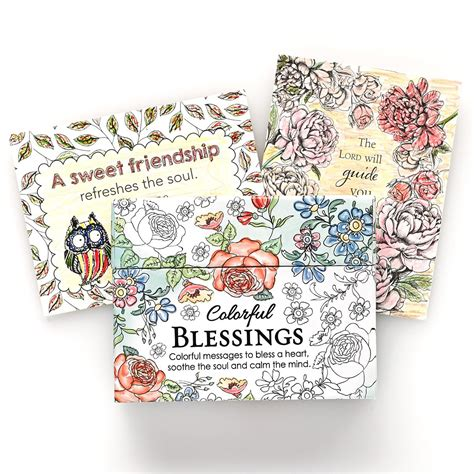 the color of blessings books devotionals colorful blessings cards coloring books for