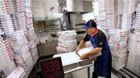 domino s life moves fast video creativity online domino s large two topping pizza tv commercial ludicrous