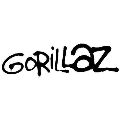 gorillaz and logos on pinterest