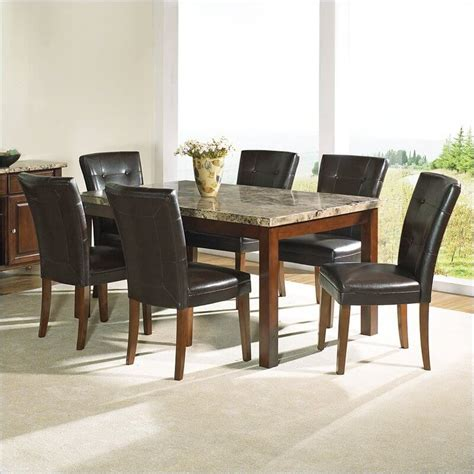 modern dining room table sets luxurious modern dining room set with marble surfaced