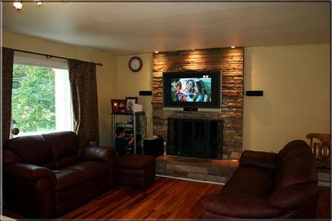 Mounting Tv Gas Fireplace by Install Flat Screen Tv Gas Fireplace Fireplaces