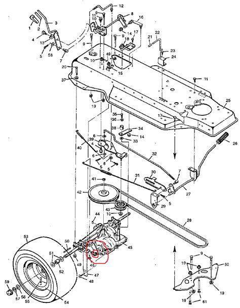 murray lawn mower parts diagram murray mower how to adjust brakes