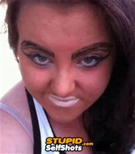 tattoo eyebrows messed up hilarious pictures on pinterest awkward family photos