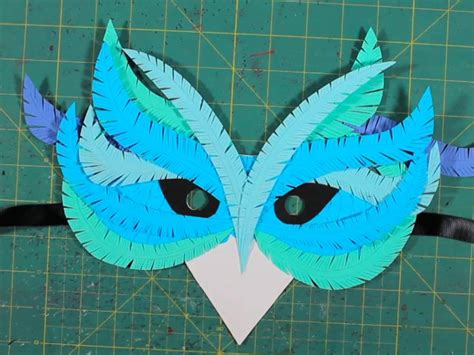 How To Make A Mask Out Of Paper For - how to craft paper masks make