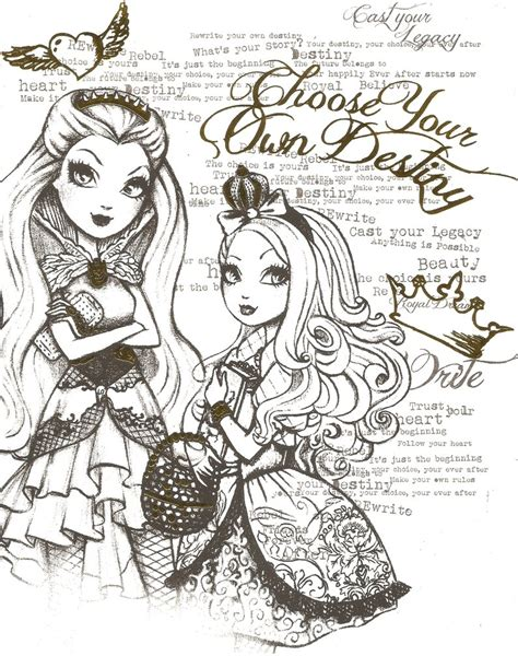coloring page ever after high free apple ever after high coloring pages
