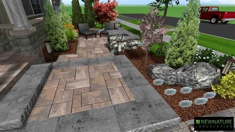home landscape design youtube excellent front yard patio design ideas patio design 208