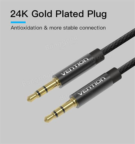 Sale Bca 1m Vention Kabel Aux Audio 3 X Rca To vention 3 5mm audio cable fabric braid 3 5 to aux cord 0 5 1 5m for car mp3 4