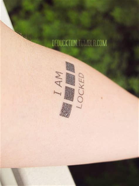 bbc tattoo sherlock temporary tattoos on storenvy