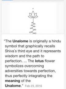 Definition Of A Lotus Flower Best 25 Unalome Meaning Ideas Only On