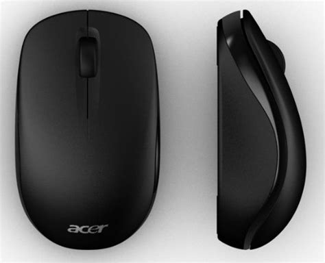 Mouse Acer Original Acer Wireless Optical Mouse Matte Black New Ebay