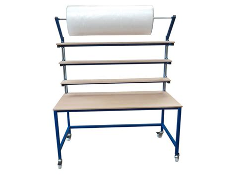 packing table with shelves packing tables manufactured by spaceguard packing tables