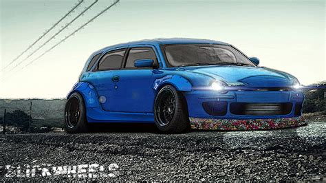fiat multipla tuning fiat multipla virtual tuning by slickwheels on deviantart
