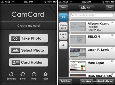 business card apk camcard business card reader apk v7 30 0 20170630 paid android application amzmodapk