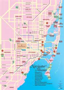 maps of miami