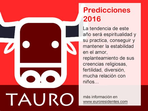 el horoscopo 2016 horscopos in hor 243 scopo tauro 2016