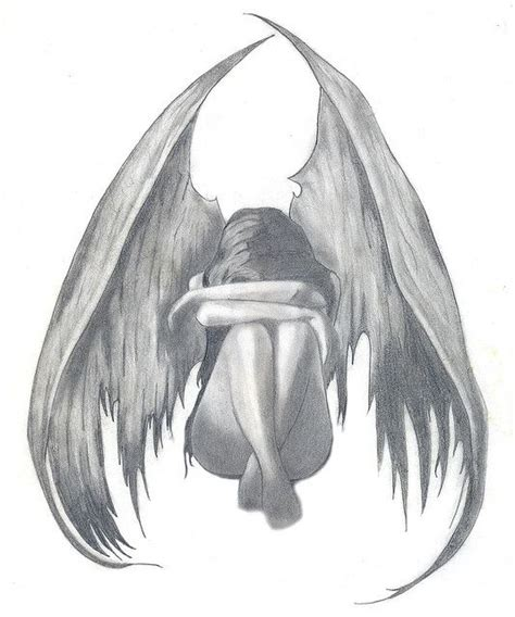 imagenes angeles llorando sad angel 193 ngeles dibujo y dibujar