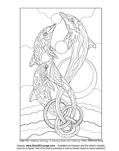 coloring books for adults seeking playtime free coloring page dolphin sea from the seeking