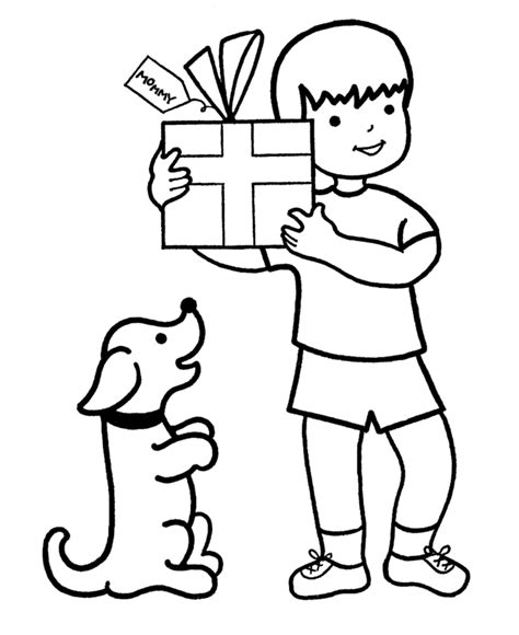 boy christmas coloring page learning years christmas coloring pages boy with a