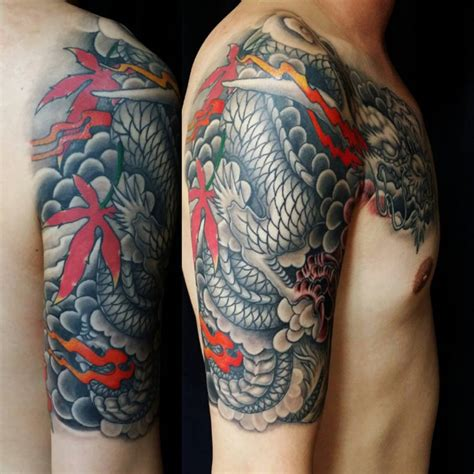 meaning of dragon tattoo 75 unique designs meanings cool