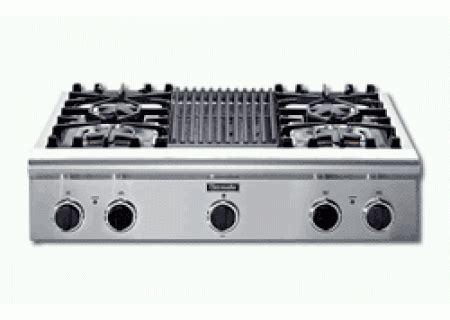 gas cooktop with grill 36 thermador professional series 36 quot gas grill cooktop