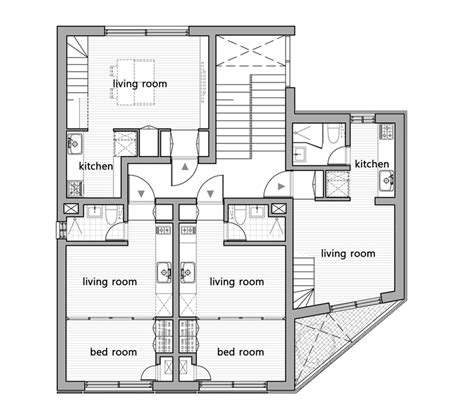 floor plan architecture brucall
