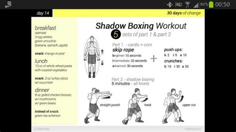 shadow boxing workout health