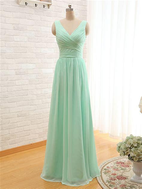mint colored bridesmaid dresses 2016 mint green coral colored bridesmaid dresses floor